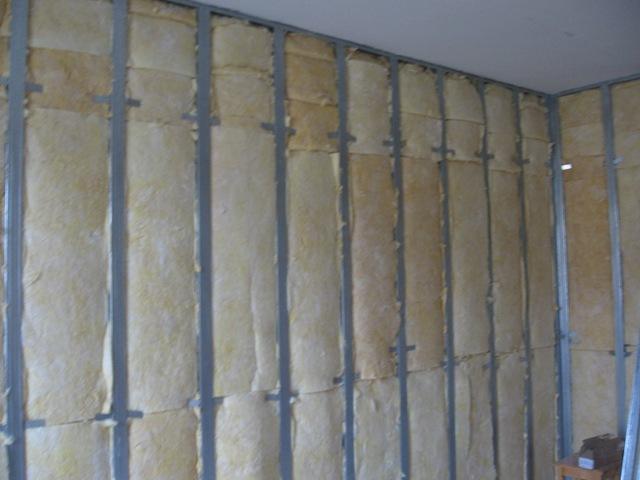 Звукоизоляция кирпичной стены