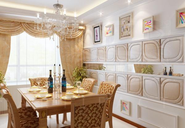 Кожаные панели - дорогая роскошь в вашей квартире