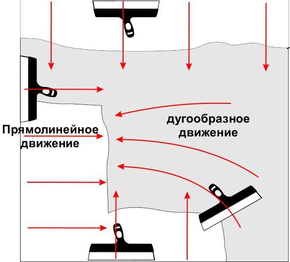 Шпатель должен быть выполнен из нержавеющей стали