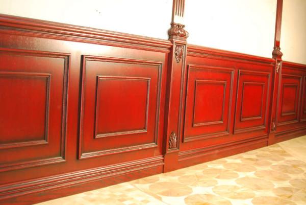 Деревянные панели для облицовки стен