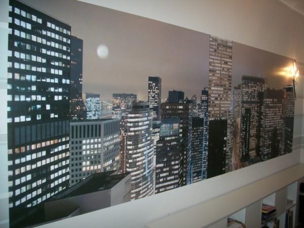 Панорамный пейзаж фотообоев