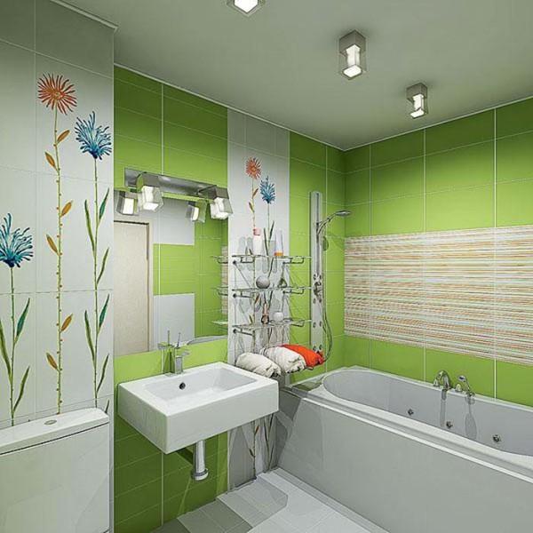 Материалы для отделки стен в ванной комнате должны быть влагостойкими и противостоять появлению грибка