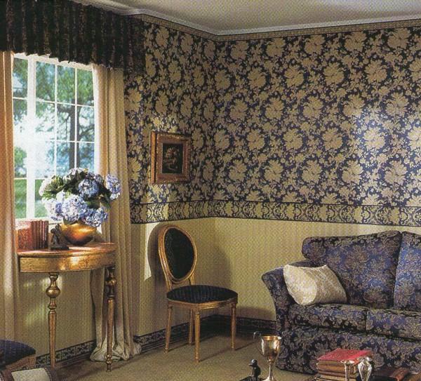 Обои - традиционный материал для внутренней отделки стен, экономичный и экологичный вариант для вашего дома