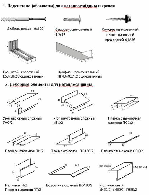 Евробрус металлический сайдинг  фото монтаж и анализ цен