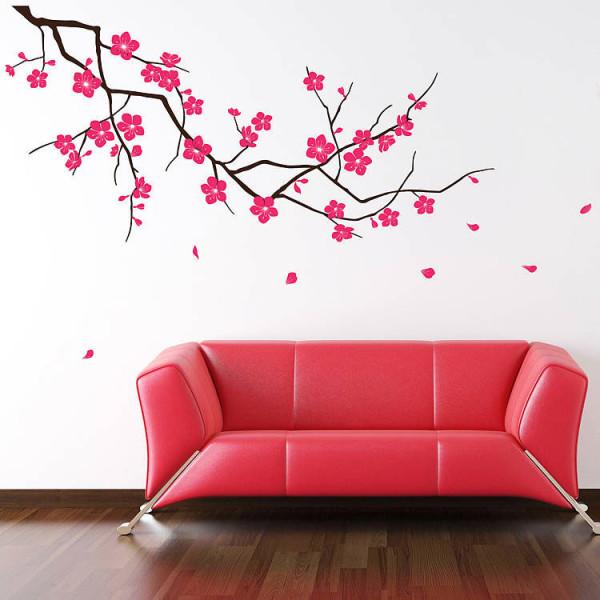 Рисунок ветки сакуры