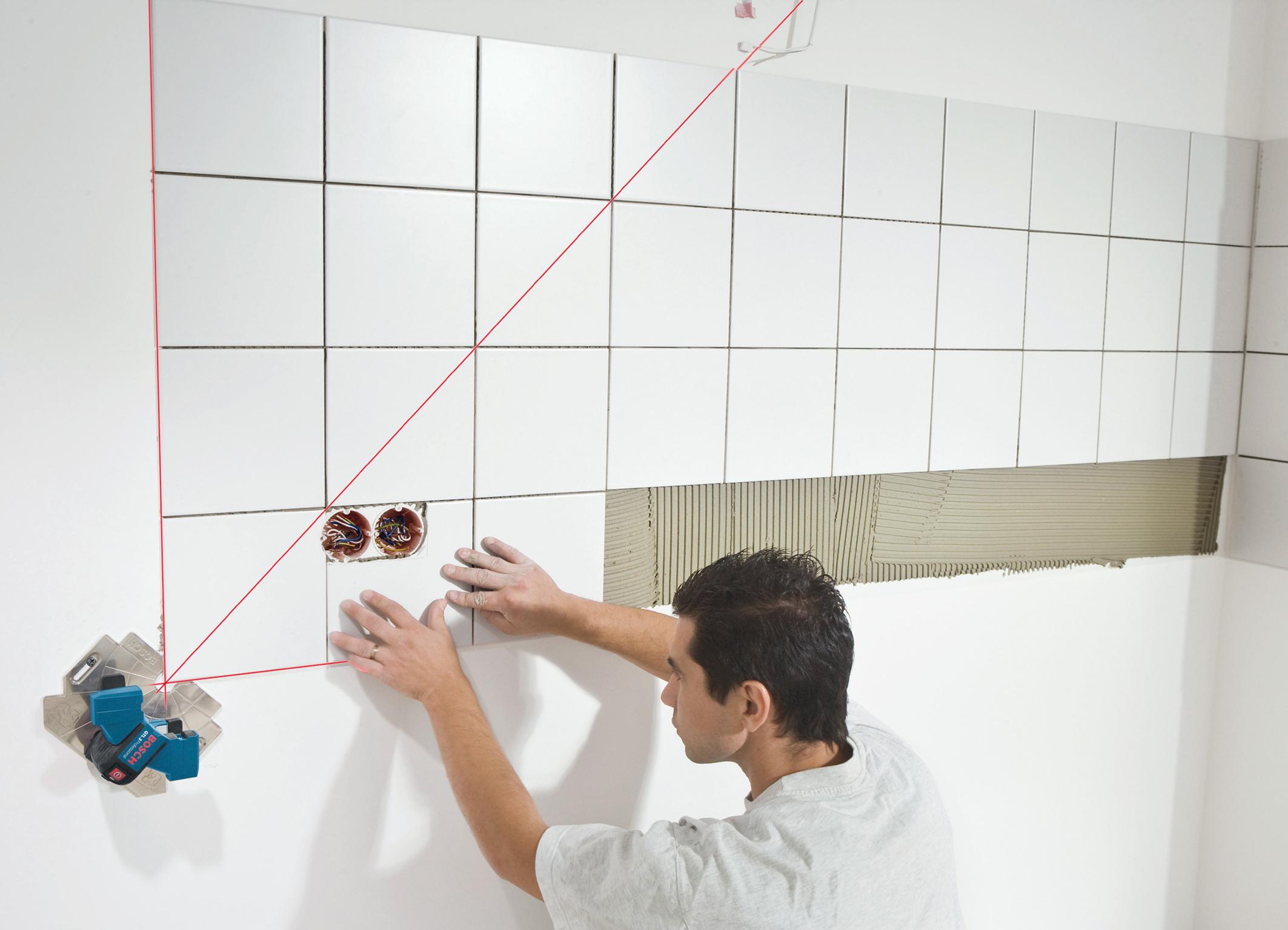 Подготовка стен для укладки плитки в ванной своими руками