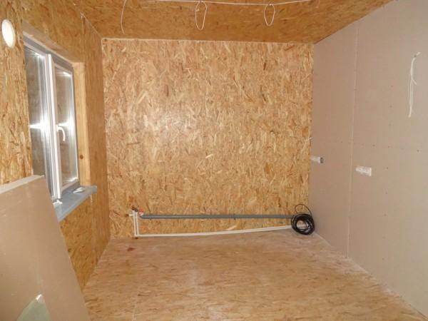 Отделка стен из СИП-панелей гипсокартоном