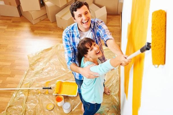 Какой краской красить стены в квартире