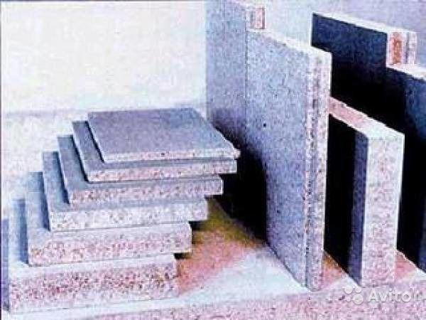 Цокольный цементно-стружечные плиты