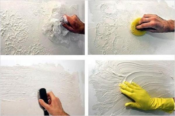 Технология нанесения декоративной краски