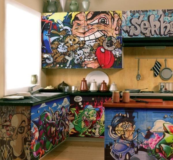 Граффити в квартире