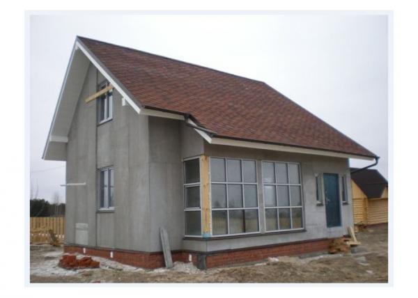 Дом, сделанный из ЦСП