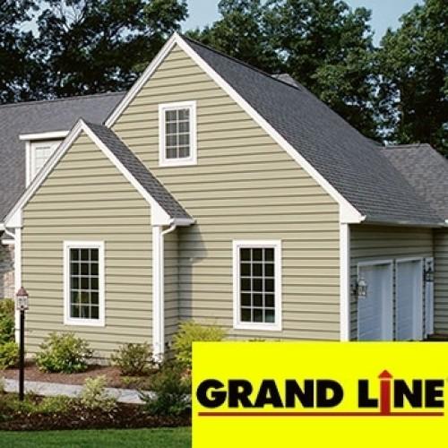 Отделка сайдингом Grand Line