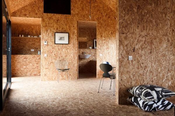 Внутренняя обстановка в доме из SIP-панелей