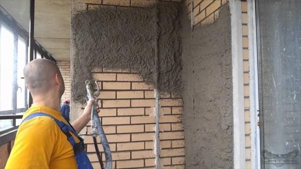 Известково цементная штукатурка своими руками