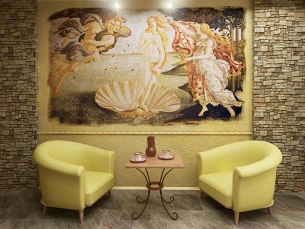Фреска - живопись по сырой штукатурке