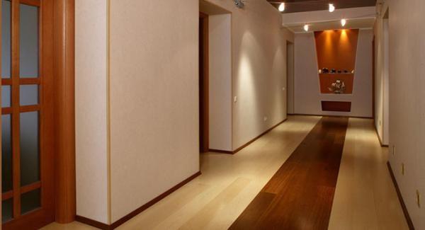 Для коридора будет уместна антивандальная краска