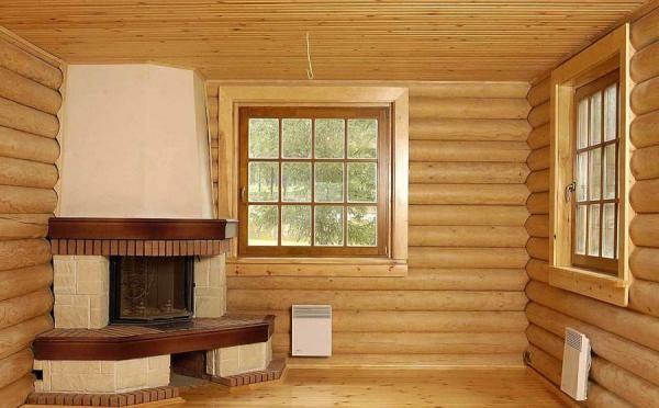 Внутренняя отделка блок хаусом