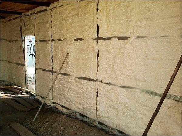 Утеплитель пена для стен