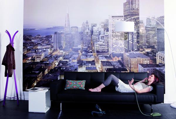 обои для стен с городами фото