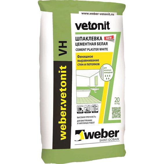 Для помещений с повышенной влажностью подойдет Vetonit VH