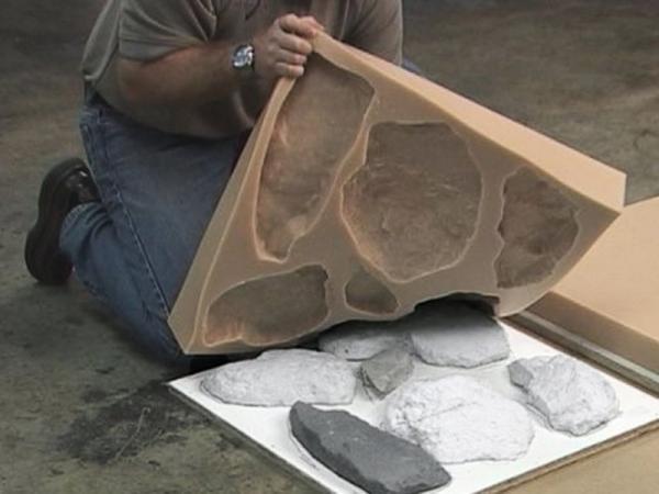 Как сделать искусственный камень из бетона - Mir-souz