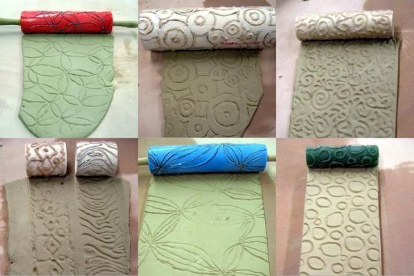 Текстурные валики для нанесения рельефного покрытия