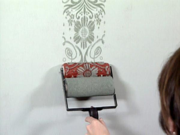 Декоративные валики для покраски стен своими руками