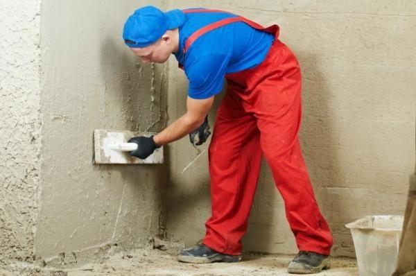 Штукатурка используется для выравнивания стен