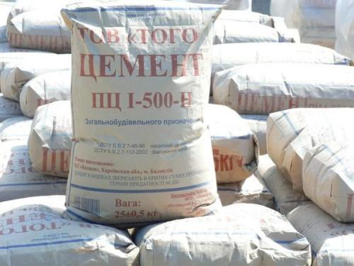 Цемент - связующее составляющее раствора