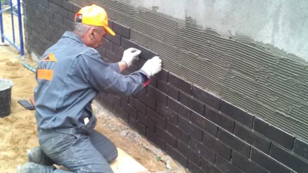 Плитка для фасада своими руками