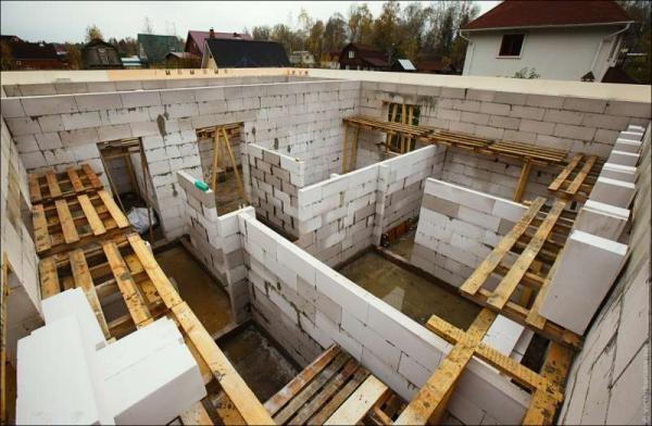 Газобетонные блоки: технические характеристики, что это такое, толщина стен из газобетона, фото, видео-инструкция как сделать пе