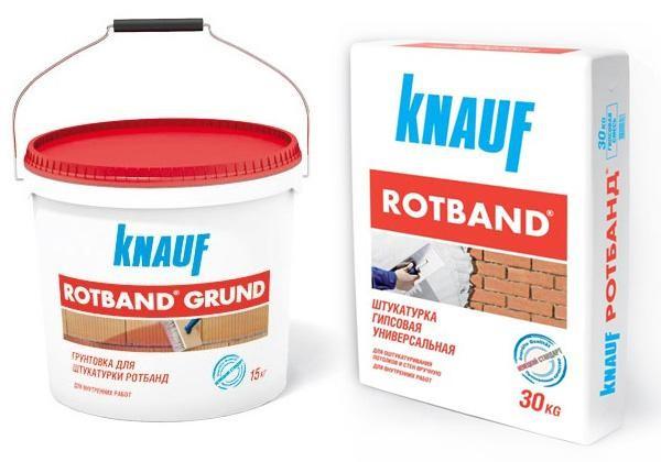 Ротбанд Кнауф - популярный и проверенный производитель гипсовой штукатурки