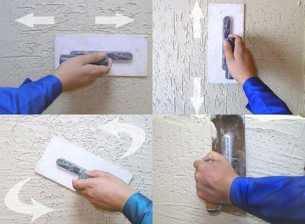 Обзор декоративной штукатурки короед, фото фасадов и отделки.
