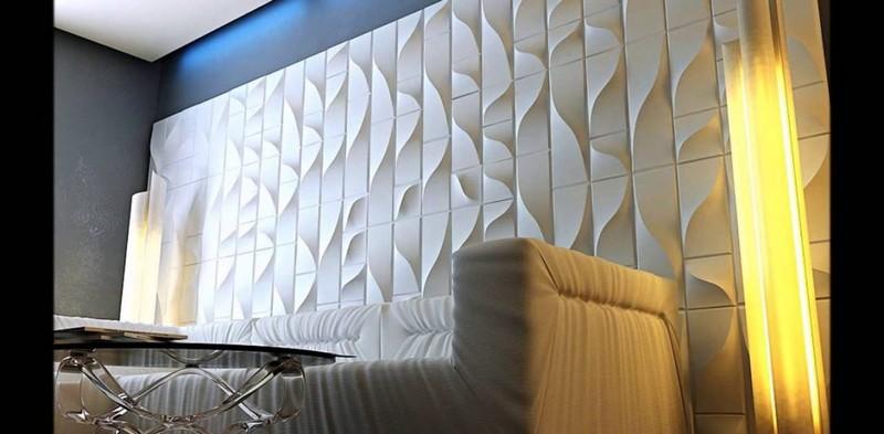 3 D панели для отделки стен