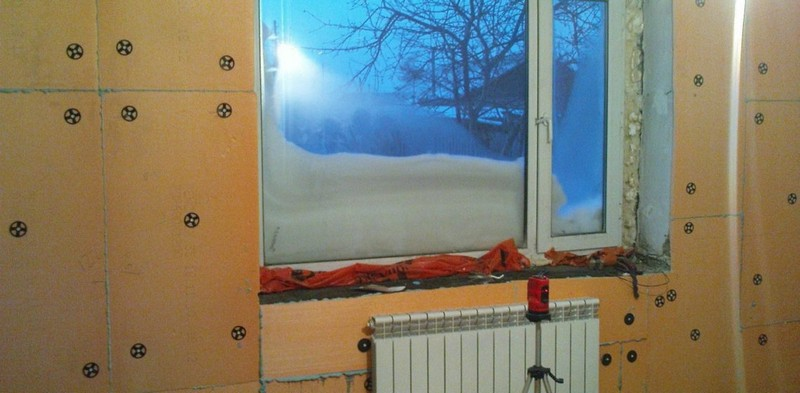 Как можно утеплить стены изнутри