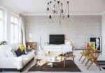 Секреты стиля: белая кирпичная стена в интерьере