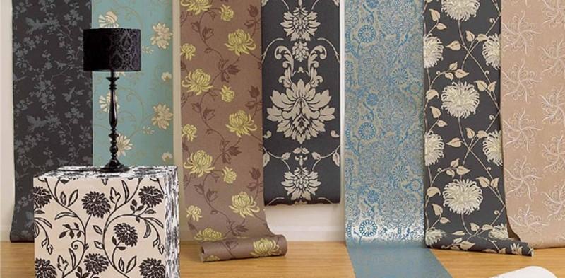 Как выбрать бумажные обои для стен