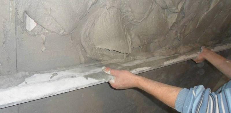 цементная штукатурка