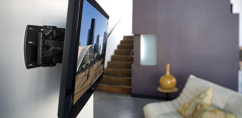 как повесить телевизор на стену