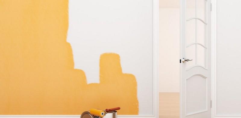 краска для отделки стен в квартире