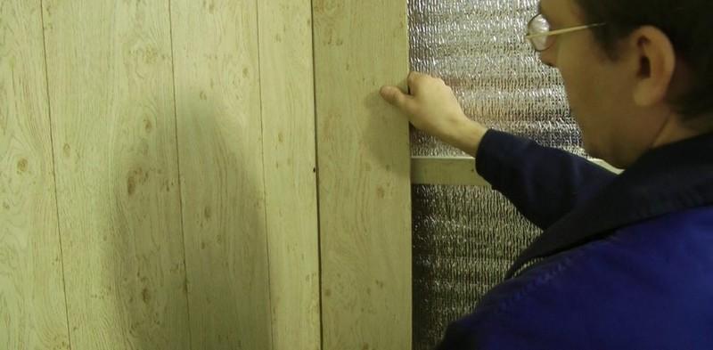 крепление панелей на стену