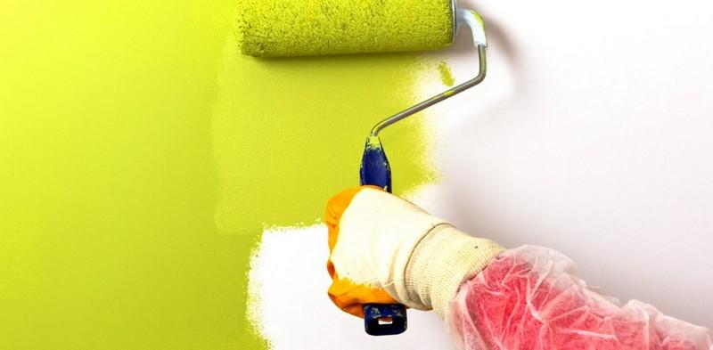 малярный валик для покраски стен