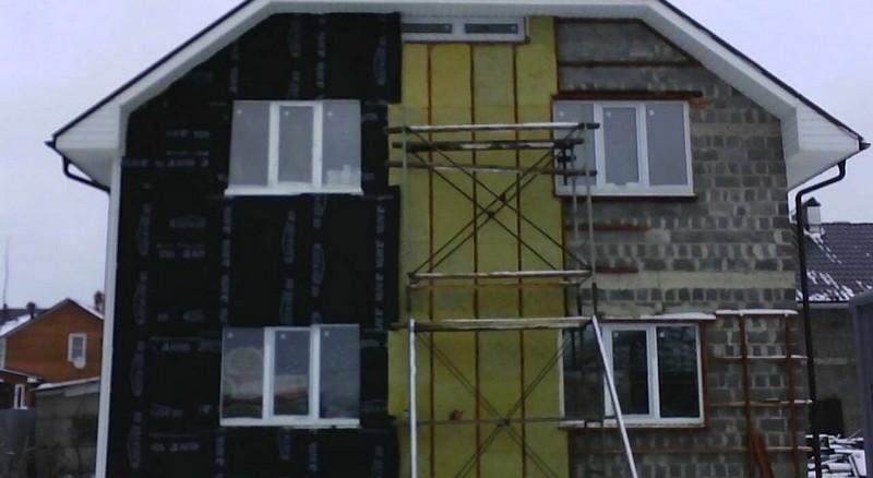 минплита для утепления фасада