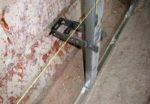Монтаж металлопрофиля для стен