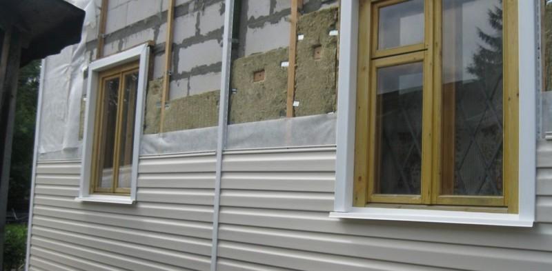 Монтаж сайдинга с утеплителем своими руками: фото, видео-инструкция как утеплить дом сайдингом