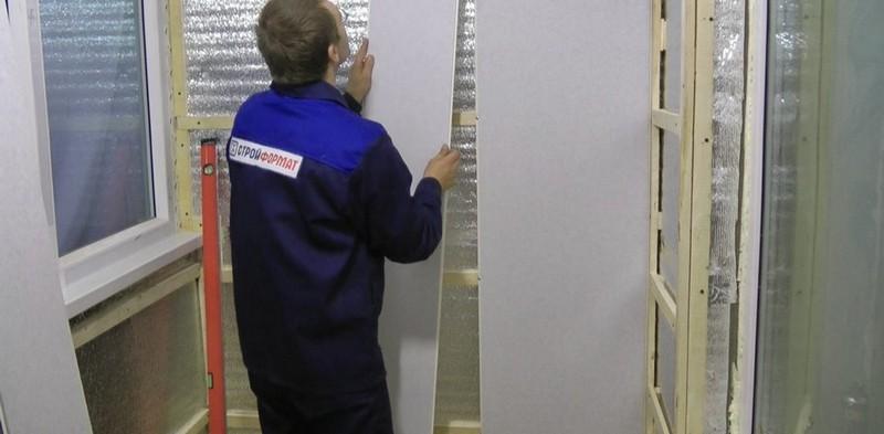 обшивка стен пластиковыми панелями
