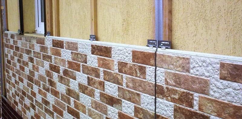 отделка фасада частного дома панелями