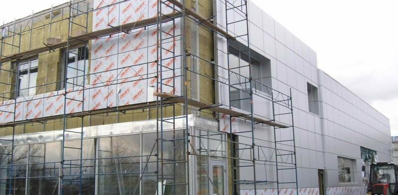 Разновидности навесных фасадов