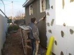 Применение фасадной штукатурки для наружных работ